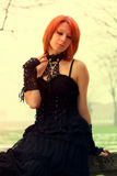 Gothic girl Royalty Free Stock Photos