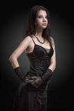 Gothic girl Royalty Free Stock Photo