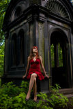 Gothic girl Stock Photos