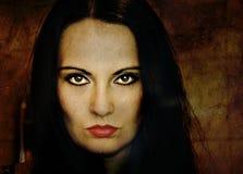 Gothic girl Stock Image