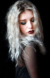 Gothic girl Royalty Free Stock Images