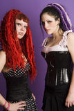 Gothic Girls Royalty Free Stock Photography