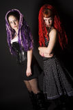 Gothic Girls Stock Image