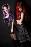 Gothic Girls Stock Image