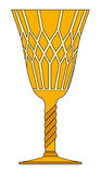 Gothic goblet vector symbol icon design. Stock Photography