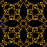 Gothic gold wallpaper Royalty Free Stock Photography