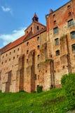 Gothic granary with brick in Grudziadz Royalty Free Stock Photo