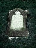 Gothic Grave stone with clear space for text Royalty Free Stock Images