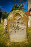 Gothic Gravestone Stock Photography