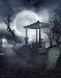 Gothic graveyard 2 Stock Image