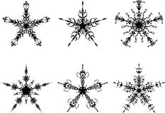 gothic gwiazdy ilustracja wektor