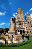 Gothic head quarters of Brihanmumbai Municipal Corporation (BMC) , Mumbai, India Royalty Free Stock Photo