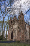 Gothic House in Arkadia in Poland Royalty Free Stock Photos