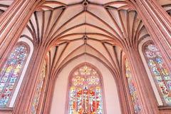 Gothic interior. Stock Photos