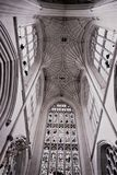 Gothic interiors and architecture royalty free stock images