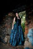 Gothic lady stock images