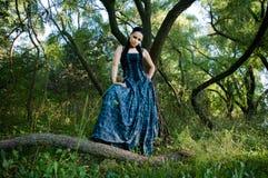 Gothic lady Stock Photo
