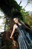 Gothic lady Stock Photos
