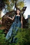 Gothic lady Stock Image