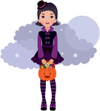 Gothic Lolita Halloween Stock Photo