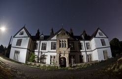 Gothic mansion Stock Images