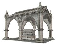 Gothic mausoleum 3 Royalty Free Stock Photography