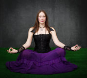 Gothic meditation Stock Image