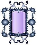 Gothic mirror Royalty Free Stock Photos