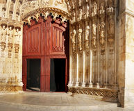 Gothic Monastery Batalha, Portugal Royalty Free Stock Images
