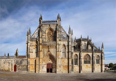 Gothic Monastery Batalha, Portugal Royalty Free Stock Photos