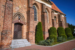 Gothic monastery church Stock Photo