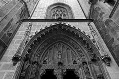 Gothic monastery Stock Photography
