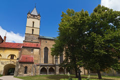 Gothic monastery Royalty Free Stock Images