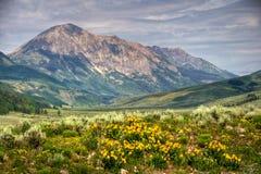 Gothic Mountain Stock Photo