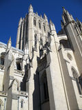 Gothic National Cathedral royalty free stock photos