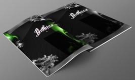 Gothic Nightclub magazine mockup Royalty Free Stock Photo