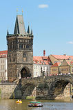 Gothic Old Town Bridge Tower Royalty Free Stock Photography