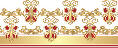 Gothic ornament for frame Royalty Free Stock Photo