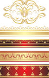 Gothic ornament. Pattern for frame Stock Photos