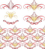 Gothic ornament. Patterns Royalty Free Stock Photography
