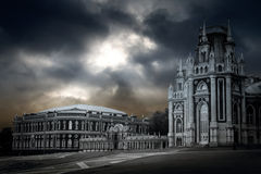 Gothic palace Royalty Free Stock Images