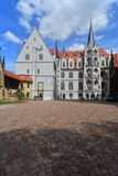 Gothic palace with staircase, Meissen, Germany Royalty Free Stock Photography