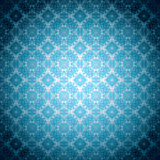 Gothic pale blue wallpaper royalty free illustration