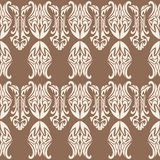Gothic Pattern. Seamless Gothic abstract pattern design stock image