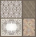 Gothic pattern Stock Photo