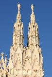 Gothic pinnacles Stock Image
