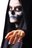 Gothic portrait of dead woman Stock Photography