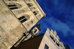 Gothic Prague Stock Photo