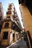 Gothic quarter of Barcelona Stock Image