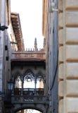 Gothic quarter of Barcelona stock image